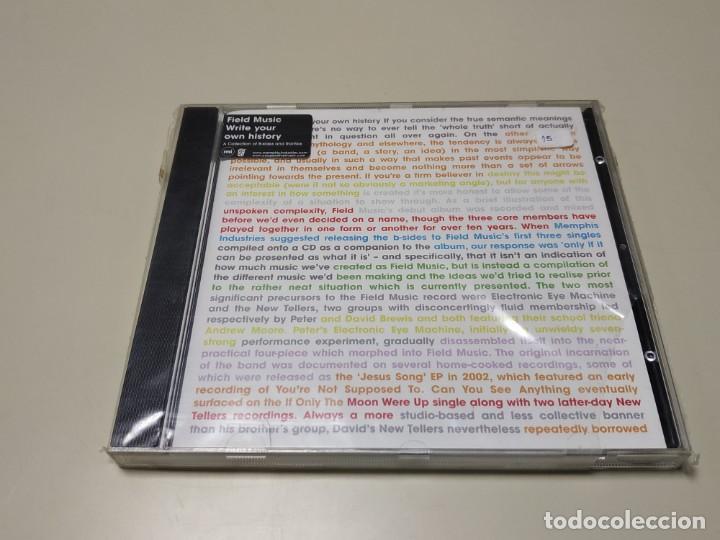 0220-FIELD MUSIC WRITE YOUR OWN HISTORY CD NUEVO REPRECINTADO LIQUIDACIÓN!! (Música - CD's Otros Estilos)