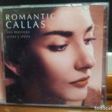 CDs de Música: ROMANTIC CALLAS - SUS MEJORES ARIAS Y DUOS - 2 CD + LIBRO CON FOTOGRAFIAS - LETRAS PEPETO. Lote 194335622