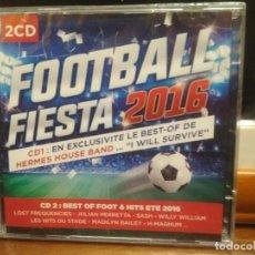 CDs de Música: FOOTBALL FIESTA 2016 DOBLE CD 2016 PRECINTADO. Lote 194335894