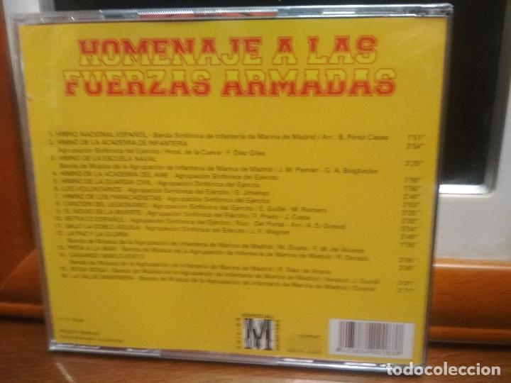 CDs de Música: HOMENAJE A LAS FUERZAS ARMADAS CD ALBUM PRECINTADO HIMNOS Y OTROS - Foto 2 - 194336466