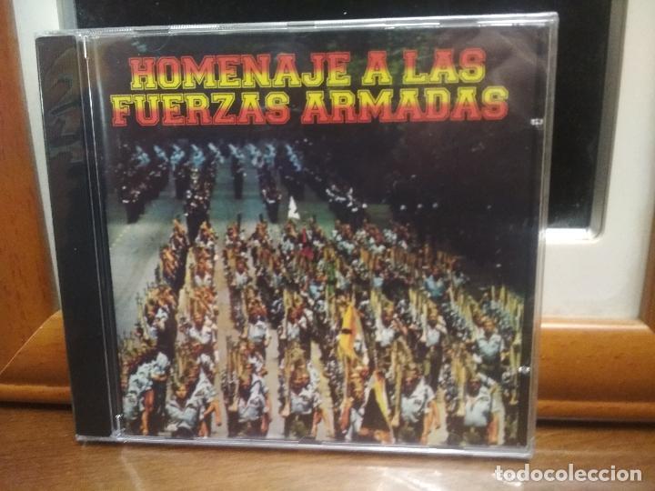 HOMENAJE A LAS FUERZAS ARMADAS CD ALBUM PRECINTADO HIMNOS Y OTROS (Música - CD's Otros Estilos)