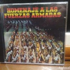 CDs de Música: HOMENAJE A LAS FUERZAS ARMADAS CD ALBUM PRECINTADO HIMNOS Y OTROS. Lote 194336466