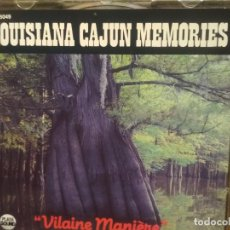CDs de Música: LOUISIANA CAJUN MEMORIES VILAINE MANIERE CD FRANCE PEPETO. Lote 194340465
