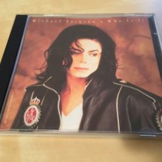 CDs de Música: MICHAEL JACKSON - WHO IS IT (CD MAXI 1993) EXTREMADAMENTE RARO. Lote 194340737