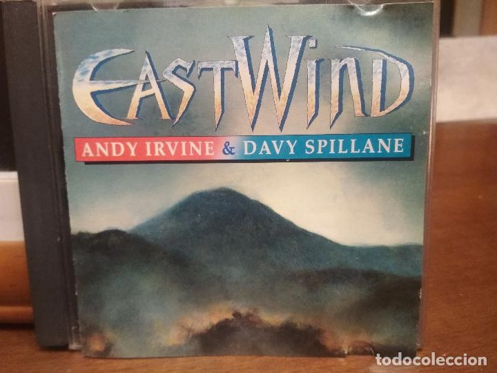 EAST WIND ANDY IRVINE & DAVY SPILLANE CD ALBUM IRELAND 1992 PEPETO (Música - CD's Country y Folk)