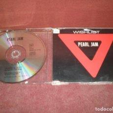 CDs de Música: CD SINGLE PROMO PEARL JAM / WISHLIST. Lote 194341283