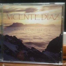 CDs de Música: VICENTE DIAZ. MONTES CANTABRICOS. CD ALBUM INCLUYE GIJON DEL ALMA. ASTURIAS PEPETO. Lote 194341698