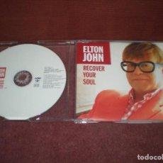CDs de Música: CD SINGLE PROMO ELTON JOHN / RECOVER YOUR SOUL. Lote 194343411