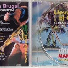 CDs de Música: LLEVA EL CARIBE DENTRO LATIN FLAVOUR JOSÉ MIGUEL DÍEZ. Lote 194343981