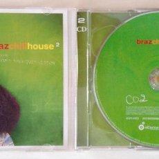 CDs de Música: BRAZCHILLHOUSE 2 2CD. Lote 194344568