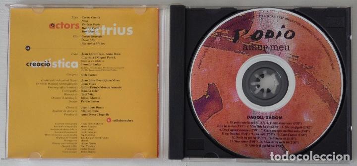 CDs de Música: DAGOLL DAGOM TODIO Amor meu CD de la orquesta de la obra - Foto 3 - 194344863