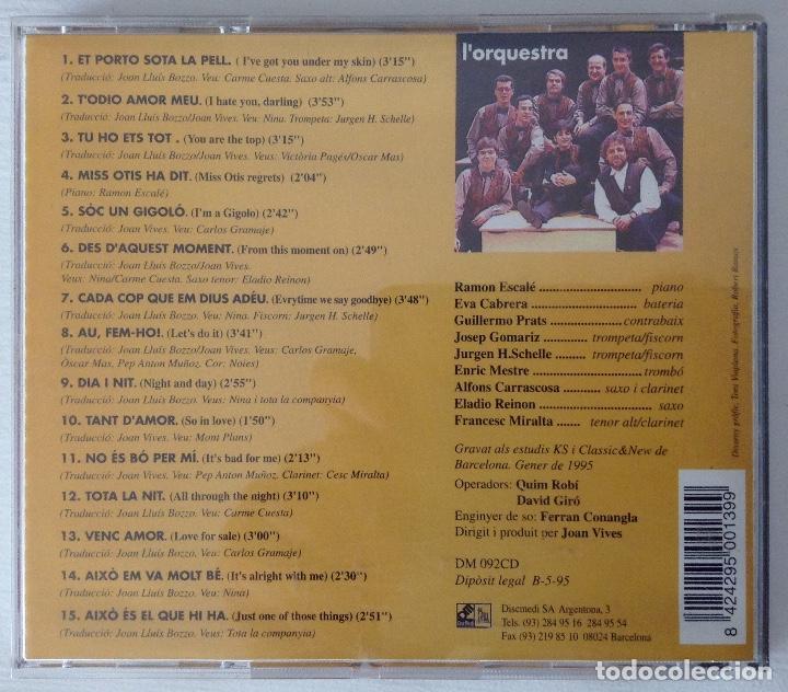 CDs de Música: DAGOLL DAGOM TODIO Amor meu CD de la orquesta de la obra - Foto 4 - 194344863