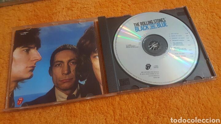 CDs de Música: STONES Black and Blue CD 1994 - Foto 2 - 194345217