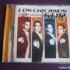 CDs de Música: LOS CHICANOS DEL SUR CD SUM 2003 - UN AMOR EN CADA PUERTO - LATIN DISCO POP FANS - CD SIN USO. Lote 194345256