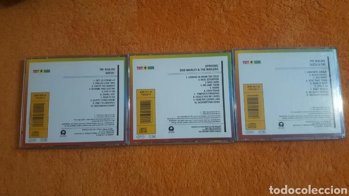 CDs de Música: Lote de 3 CD BOB MARLEY AND THE WAILERS - Foto 4 - 194346183