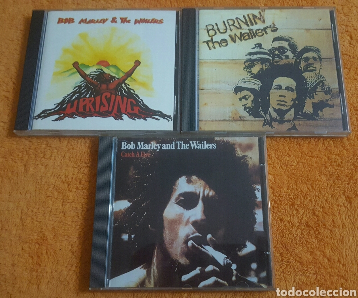 LOTE DE 3 CD BOB MARLEY AND THE WAILERS (Música - CD's Reggae)