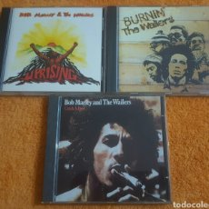 CDs de Música: LOTE DE 3 CD BOB MARLEY AND THE WAILERS. Lote 194346183