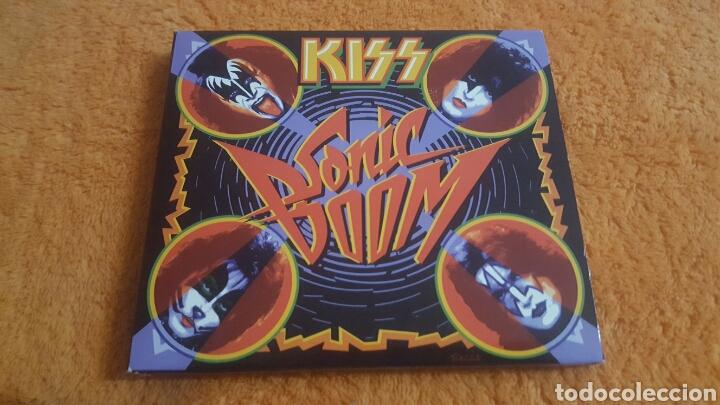 KISS SONIC BOOM CD + DVD DIGIPACK (Música - CD's Rock)