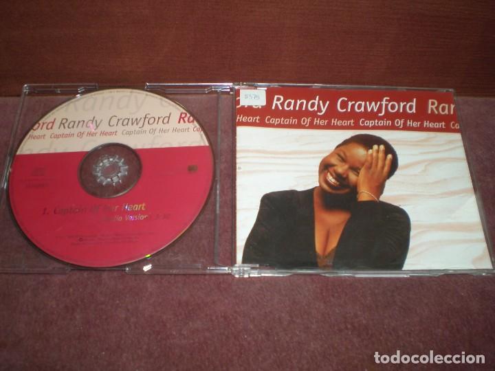 CD SINGLE PROMO RANDY CRAWFORD / CAPTAIN OF HER HEART (Música - CD's Jazz, Blues, Soul y Gospel)