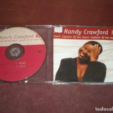 CDs de Música: CD SINGLE PROMO RANDY CRAWFORD / CAPTAIN OF HER HEART. Lote 194350010