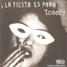 CDs de Música: LA FIESTA ES PARA TODOS - MUNSTER RECORDS. Lote 194351117