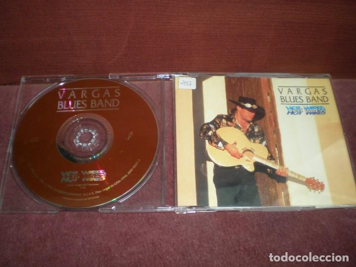 CD SINGLE PROMO VARGAS BLUES BAND / HOT WIRES (Música - CD's Jazz, Blues, Soul y Gospel)