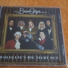CDs de Música: BRIAN SETGER ORCHESTRA WOLFGAN'S BIG NIGHT OUT CD. Lote 194352203