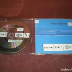 CDs de Música: CD MAXI SINGLE PROMO 042 - 6 TRACKS - GINGER PROMOCIONAL. Lote 194352266