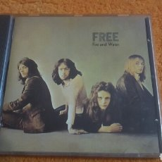 CDs de Música: FREE FIRE AND WATER CD. Lote 194353153