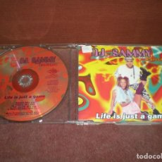 CDs de Música: CD MAXI SINGLE D.J.SAMMY CARISMA / LIFE IS JUST A GAME 4 TRACKS VERSIONES. Lote 194353996