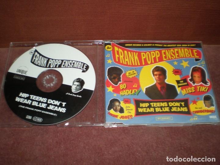 CD MAXI SINGLE THE FRANK POPP ENSEMBLE / HIP TEENS DON T WEAR BLUE JEANS - 3 TRACKS (Música - CD's Jazz, Blues, Soul y Gospel)