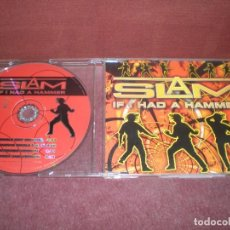 CDs de Música: CD MAXI SINGLE SLAM / IF I HAD A HAMMER - 4 TRACKS. Lote 194354765