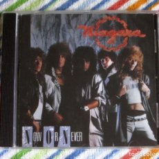CDs de Música: NIAGARA - NOW OR NEVER CD NUEVO Y PRECINTADO - HARD ROCK AOR GLAM ROCK. Lote 194355033