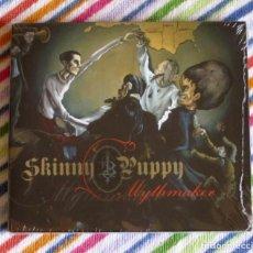 CDs de Música: SKINNY PUPPY - MYTHMAKER CD DIGIPAK NUEVO Y PRECINTADO - ELECTRO INDUSTRIAL . Lote 194356233