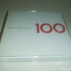 CDs de Música: 100 BEST OPERA CLASSICS, 6 CD EMI 2004. Lote 194357303