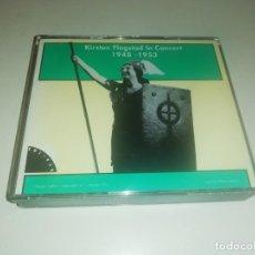 CDs de Música: KIRSTEN FLAGSTAD, IN CONCERT 1948-1953 2 CD + LIBRILLO INTERIOR. Lote 194357347