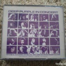 CDs de Música: DOBLE CD. DEEP PURPLE. IN CONCERT. PRECINTADO. Lote 194367736