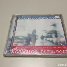 CDs de Música: 0220-CATIE CURTIS A CRASH COURSE IN ROSES CD NUEVO RE/PRECINTADO LIQUIDACIÓN!. Lote 194369095