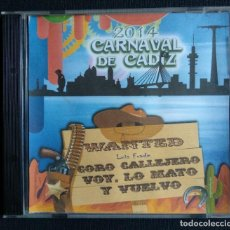 CDs de Música: CD CARNAVAL DE CÁDIZ 2014. Lote 194369110