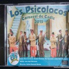 CDs de Música: CD 2015 LOS PSICOLOCOS CARNAVAL CÁDIZ (PRECINTADO). Lote 194369635