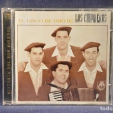 CDs de Música: LOS CHIMBEROS - EL DISCO DE ORO DE LOS CHIMBEROS - CD . Lote 194370858