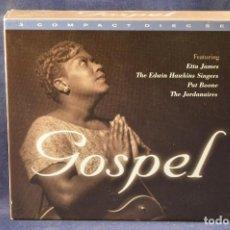 CDs de Música: E.JAMES & P.BOONE & THE JORDANAIRES & THE EDWIN HAWKINS SINGERS - GOSPEL - 3 CD . Lote 194378351