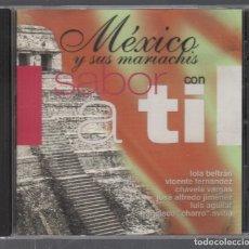 CDs de Música: MEXICO Y SUS MARIACHIS CON SABOR A TI / CD DE 2001 RF-4758 . Lote 194379952