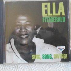 CDs de Música: ELLA FITZGERALD. SING, SONG, SWING. COMPACTO CON 20 TEMAS.. Lote 194380321