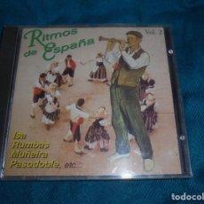 CDs de Música: RITMOS DE ESPAÑA. VOL. 2. ISA, RUMBAS, MUÑEIRAS.....MUSIVOZ, 1995. CD. Lote 194380812