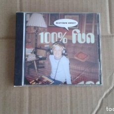 CDs de Música: MATTHEW SWEET - 100 % FUN CD 1995. Lote 194382418