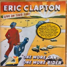 CDs de Música: ERIC CLAPTON - ONE MORE CAR, ONE MORE RIDER - 2XCD. Lote 194382515