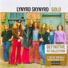 CDs de Música: LYNYRD SKYNYRD - GOLD - 2XCD. Lote 194393531