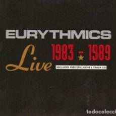 CDs de Música: EURYTHMICS - LIVE 1983 - 1989 - 3XCD LIMITED EDITION. . Lote 194395141