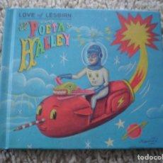 CDs de Música: LIBRO CD. LOVE OF LESBIAN. EL POETA HALLEY. MUY BUENA CONSERVACION. Lote 194397286
